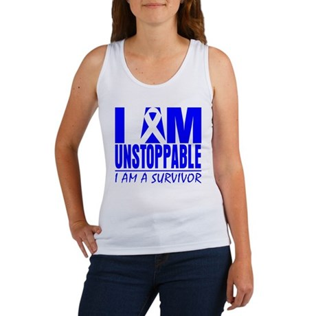 Unstoppable Colon Cancer Women's Tank Top