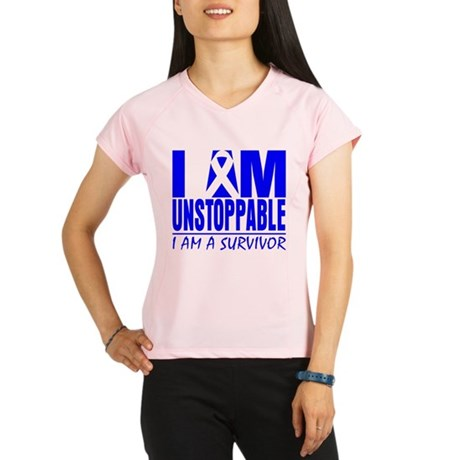 Unstoppable Colon Cancer Performance Dry T-Shirt
