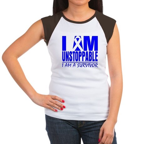 Unstoppable Colon Cancer Women's Cap Sleeve T-Shir