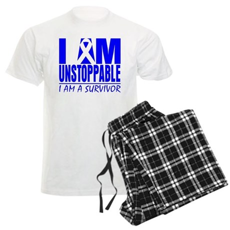 Unstoppable Colon Cancer Men's Light Pajamas