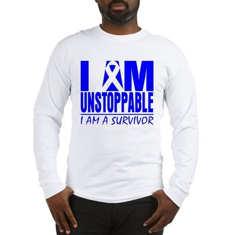 Unstoppable Colon Cancer Long Sleeve T-Shirt