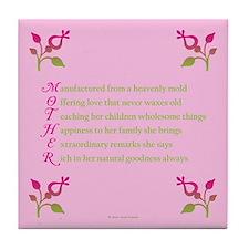 MOTHER Tile Coaster