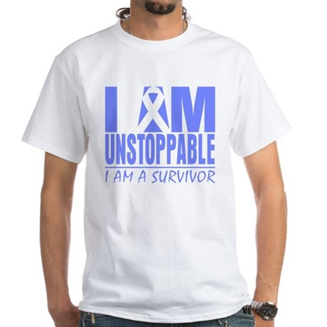Unstoppable Esophageal Cancer White T-Shirt