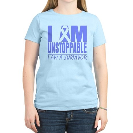 Unstoppable Esophageal Cancer Women's Light T-Shir