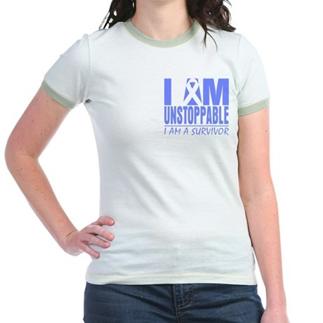 Unstoppable Esophageal Cancer Jr. Ringer T-Shirt