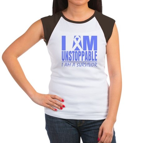 Unstoppable Esophageal Cancer Women's Cap Sleeve T