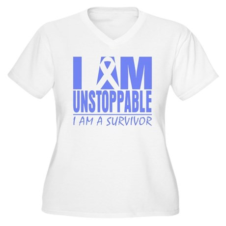 Unstoppable Esophageal Cancer Women's Plus Size V-