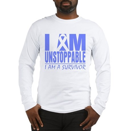 Unstoppable Esophageal Cancer Long Sleeve T-Shirt