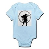 Machine gunner Infant Bodysuit