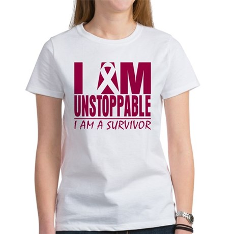 Unstoppable Head Neck Cancer Women's T-Shirt