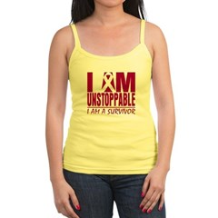 Unstoppable Head Neck Cancer Jr. Spaghetti Tank