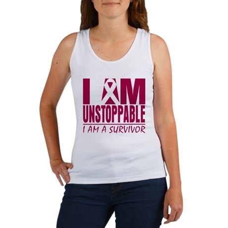 Unstoppable Head Neck Cancer Women's Tank Top