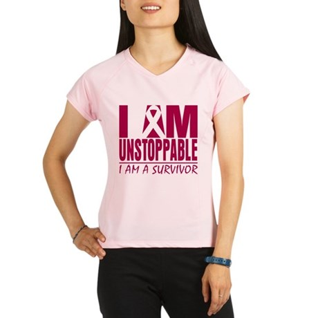 Unstoppable Head Neck Cancer Performance Dry T-Shi