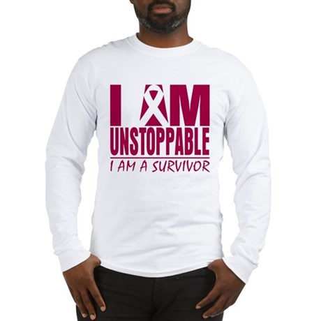 Unstoppable Head Neck Cancer Long Sleeve T-Shirt
