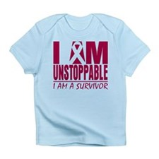 Unstoppable Head Neck Cancer Infant T-Shirt
