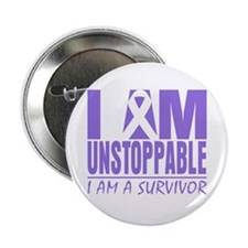 "Unstoppable Hodgkins Lymphoma 2.25"" Button (100 pa"