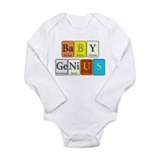 Baby Genius Long Sleeve Infant Bodysuit