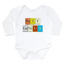 Baby Genius Long Sleeve Infant Bodysuit