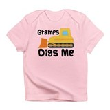 Love Gramps Bulldozer Infant T-Shirt