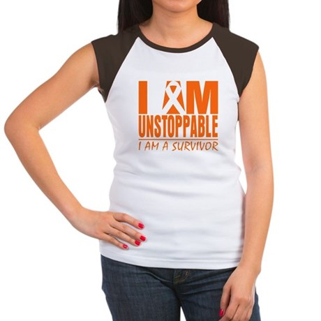 Unstoppable Kidney Cancer Women's Cap Sleeve T-Shi