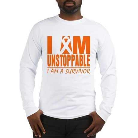 Unstoppable Kidney Cancer Long Sleeve T-Shirt