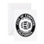 Compton City Seal Greeting Cards (Pk of 20)