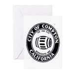 Compton City Seal Greeting Cards (Pk of 10)