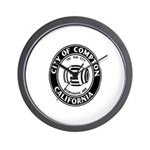 Compton City Seal Wall Clock