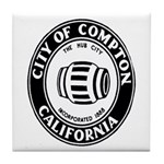 Compton City Seal Tile Coaster