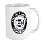 Compton City Seal Large Mug