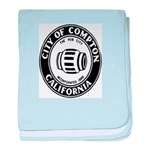 Compton City Seal baby blanket