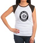Compton City Seal Women's Cap Sleeve T-Shirt