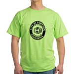 Compton City Seal Green T-Shirt