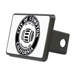 Compton City Seal Rectangular Hitch Cover