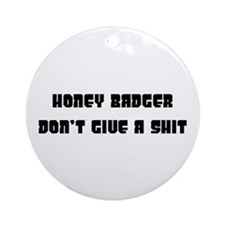 honey badger Ornament (Round)