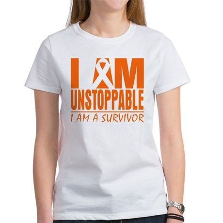 I am Unstoppable Leukemia Women's T-Shirt