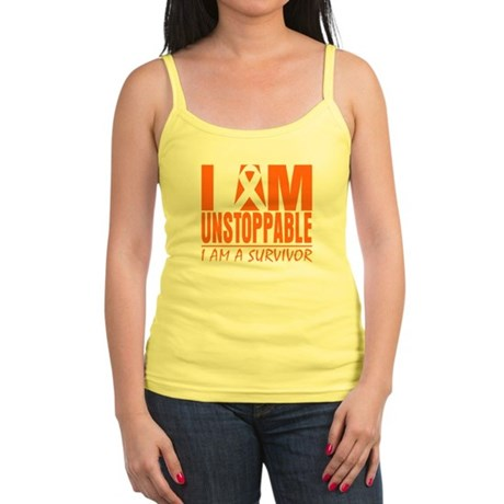I am Unstoppable Leukemia Jr. Spaghetti Tank