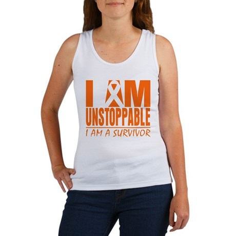 I am Unstoppable Leukemia Women's Tank Top