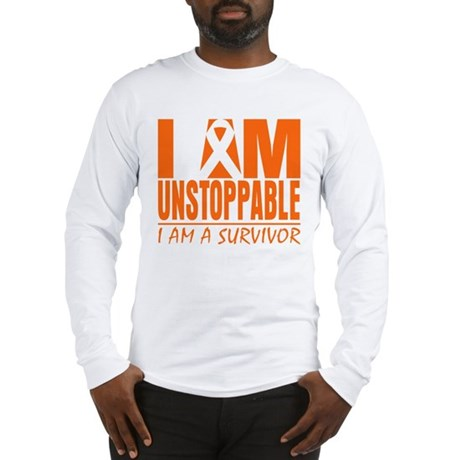 I am Unstoppable Leukemia Long Sleeve T-Shirt