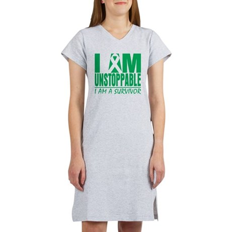 Unstoppable Liver Cancer Women's Nightshirt