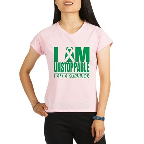 Unstoppable Liver Cancer Performance Dry T-Shirt