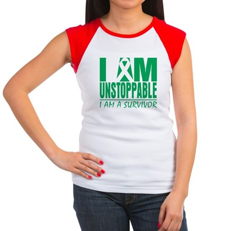 Unstoppable Liver Cancer Women's Cap Sleeve T-Shir