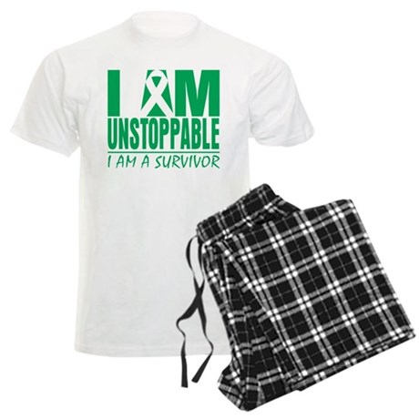 Unstoppable Liver Cancer Men's Light Pajamas