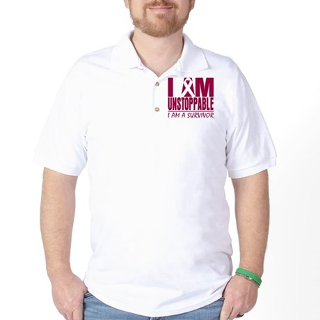 Unstoppable Multiple Myeloma Golf Shirt