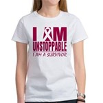 Unstoppable Multiple Myeloma Women's T-Shirt