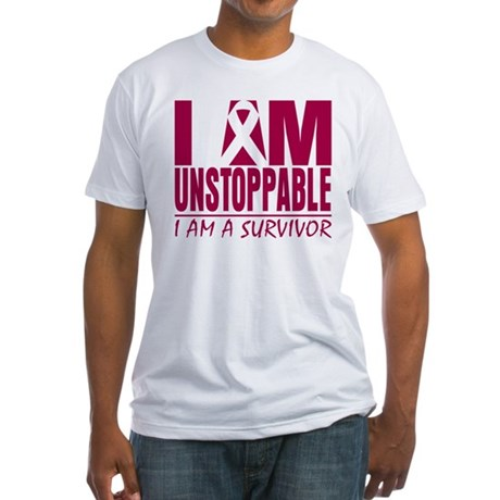 Unstoppable Multiple Myeloma Fitted T-Shirt