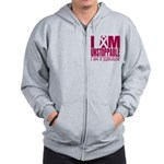 Unstoppable Multiple Myeloma Zip Hoodie