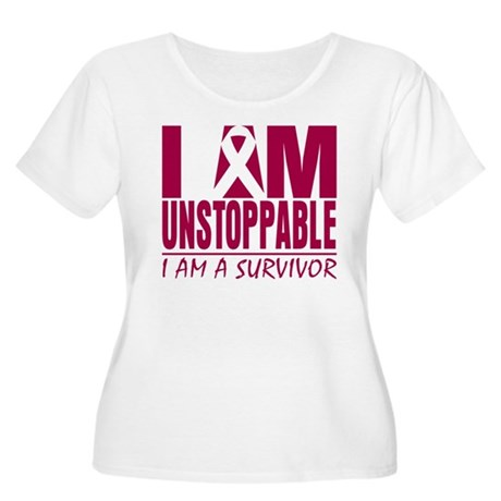 Unstoppable Multiple Myeloma Women's Plus Size Sco