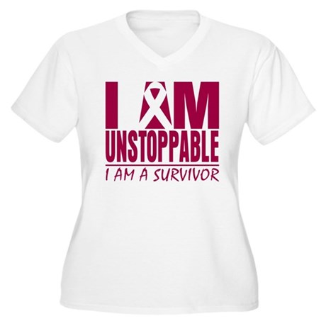 Unstoppable Multiple Myeloma Women's Plus Size V-N