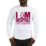 Unstoppable Multiple Myeloma Long Sleeve T-Shirt